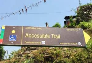 accessible trekking trail