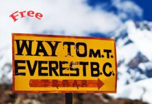 free everest base camp trekking