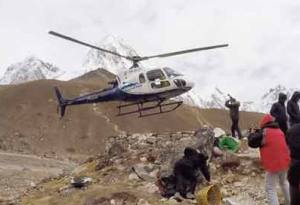 Heli Trek to Everest Base Camp