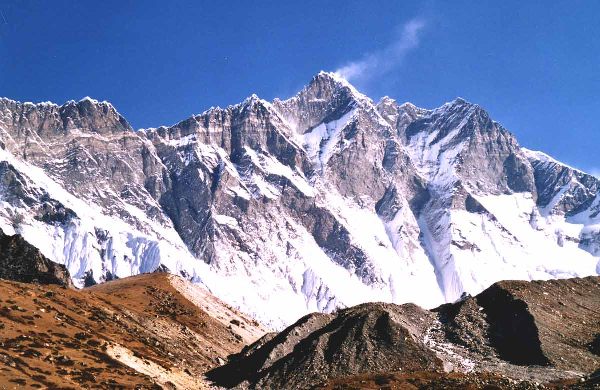 highest mountain lhotse
