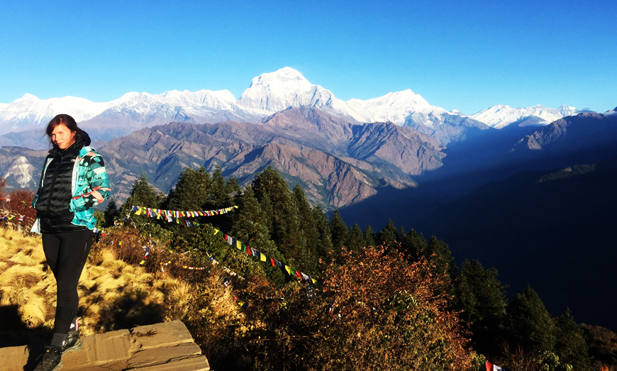 poon hill short trekking