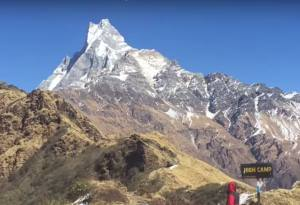 fishtail and mardi himal from high camp