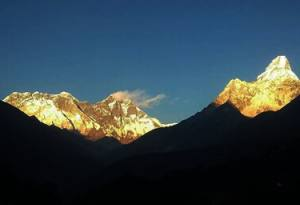 Nepal trekking in January February