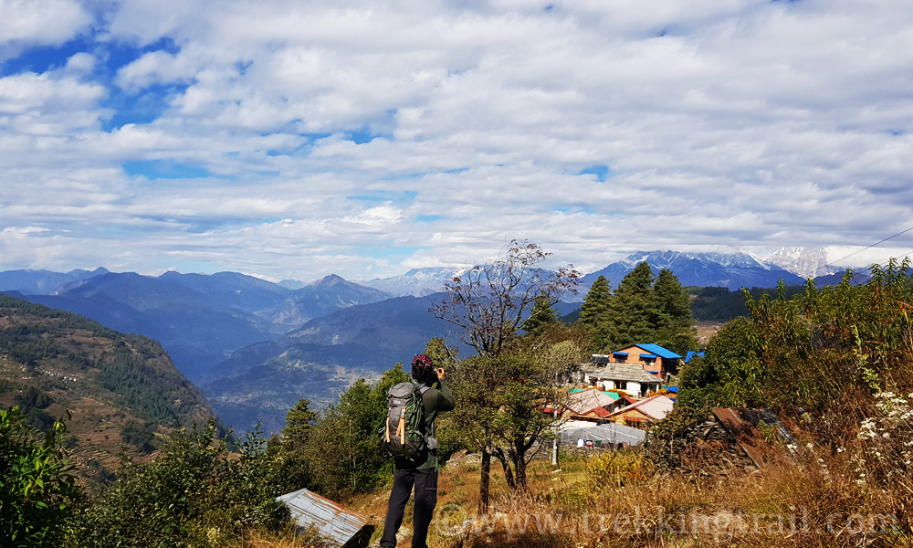 Nagi Village View of Mohare Danda Trek