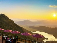 Sunset View from Rupakot Resort