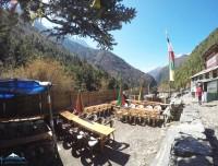 Amadablam Luxury Trek Tea Stop