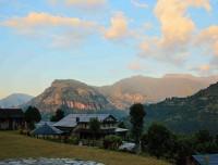 annapurna luxury trekking resort at majhkot
