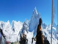 View From Nangkar Tshang  Hill 5083 m
