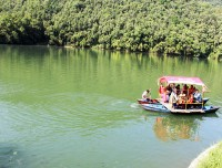 nepal golden triangle tour boating in pokhara