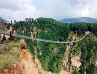 High Bridge of Kusma- Trekking Trail of Chitre High Bridge Baglung Trek