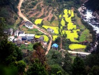 Dobilla Village - A Village on Chitre High Bridge Baglung Trekking