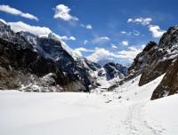 Near by Cho-La Pass Trekking Trail