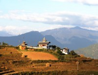 country side of bhutan