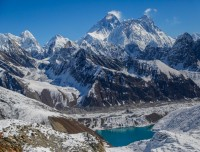 View of Everest Gokyo Lake