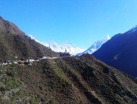 everest view after namche