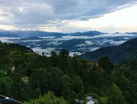 green view from nagarkot