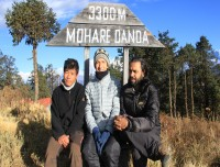Happy Trekkers at Mohare Danda Trekking