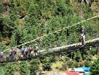 High Bridge of Everest Base Camp Trek