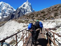 jhakpe on short ebc trek