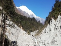 langtang valley trekking trail nepal