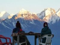 Langtang Valley Trekking View from Kyanjin