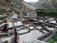 marpha village on the way to jomsom