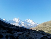 Morning View from Pheriche