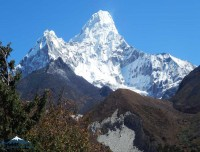 amadablam from pangboche