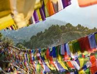 namobuddha prayer flags