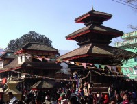 hindu temple of panauti village