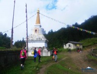 Pikey Peak Trek Stupa