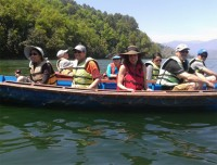 Boating in Phewa Lake, Pokhara