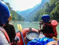 rafting in nepal trisuli river