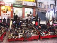 Shopping in Kathmandu Durbar Square