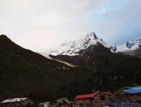 short manaslu circuit trekking view