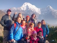 short poon hill trekking group in ghandrung