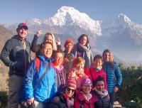 short poon hill trekking group in ghandrung