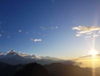 Sunrise from Mohare Danda Trekking