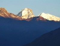Sunset View From Tamang Heritage Trek