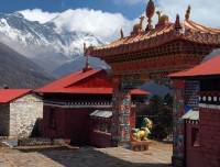Tengboche Monastery on the Way to Everest Base Camp