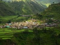 thabang village in spring guerrilla trekking trail nepal