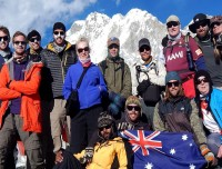 Trekking Trail Nepal Group at Everest Base Camp