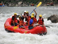 rafting holidays with trekking trail