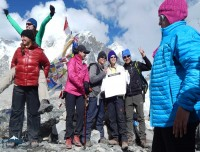 victory over everest base camp