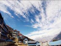 View From Hotel Sunny Ghorepani