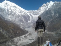 View from Tsergo Ri, Langtang