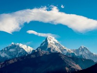 himalayan view of annapurna luxury trekking