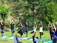 Yoga in Mardi Himal Trek