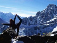 Yoga on Everest Base Camp Trek