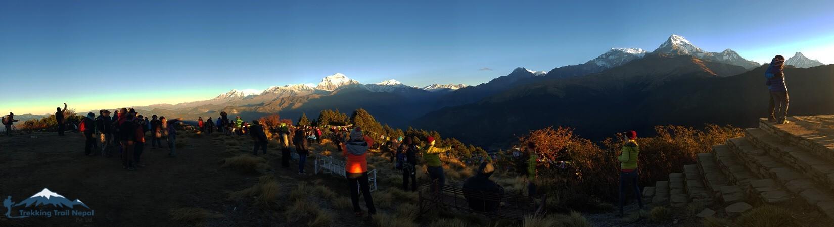 Best View of 3 Days Poon Hill Trek